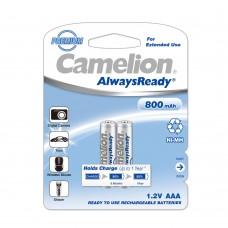 Επαναφορτιζόμενη Μπαταρία Camelion Always Ready AAA 1.2V 800mAh